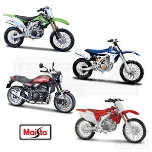 Maisto 1 12 Scale Motorcycles Diecast Model Honda Kawasaki Yamaha Motorbikes Ebay