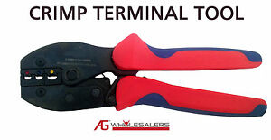 CRIMP-TERMINAL-PLIER-RATCHET-TOOL-WIRE-LUG-CRIMPER