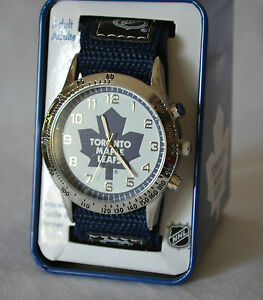 New-Official-NHL-Toronto-Maple-Leafs-watch-FREE-SHIPPING-in-North-America
