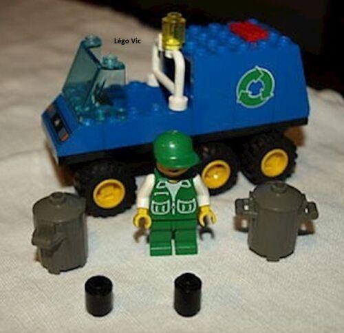 Lego 6564 Town City Recycle Truck Camion Poubelle complet de 1997 C255