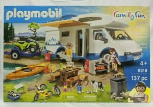 Playmobil-9318-Camping-Adventure-New-Factory-Sealed