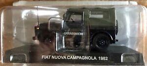 DIE-CAST-034-FIAT-NUOVA-CAMPAGNOLA-1982-034-SCALA-1-43-CARABINIERI