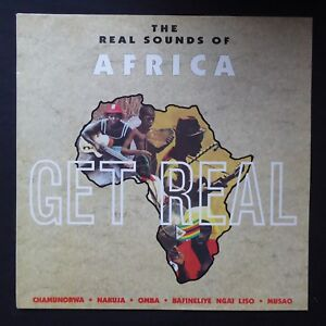 THE REAL SOUNDS OF AFRICA Get Real CHAMUNORWA CHERRY RED 1990 BRED 89 VINYL LP - purley, United Kingdom - THE REAL SOUNDS OF AFRICA Get Real CHAMUNORWA CHERRY RED 1990 BRED 89 VINYL LP - purley, United Kingdom