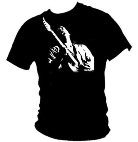 Jimi Hendrix Gitarre Voodoo Child Herren Siebdruck 100/% Cotton T-Shirt
