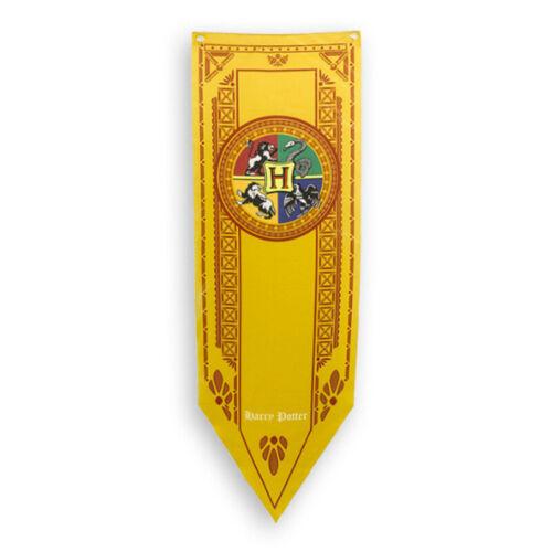 Harry Potter Flag Banner Wall Hanging Drape Hogwarts Gryffindor Hufflepuff Decor