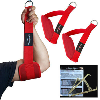Mettere In Guardia Muscolare Addominale, Cinghie Bene-blaster-sling Rosso + Grasso Corporeo Messzange Nuovo-laufen, Gut-blaster-slings Rot + Körperfettmesszange Neu It-it
