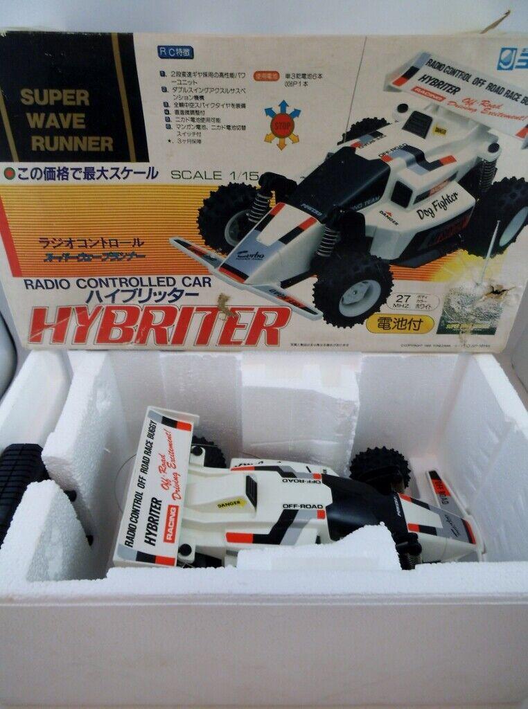 Vintage años 80 Yonezawa Onda Hunter 1 15 hybriter Perro Fighter MIB Nikko Taiyo Tyco