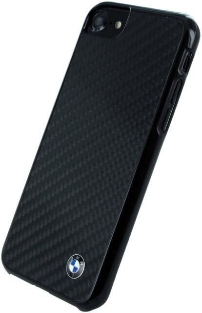 BMW Real Fibra de Carbono Iphone 8 ,7 ,6s Funda Protectora Contraportada Rígida