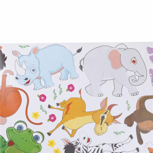 Stickers muraux animaux de la jungle pour décorations murales affiches décOP