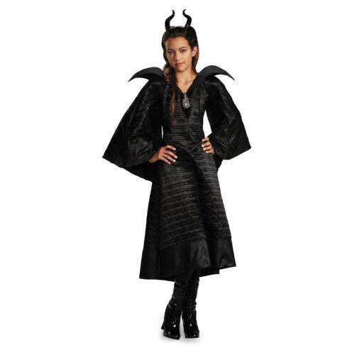 Disney Maleficent Christening Black Gown Girls Deluxe CostumeDisguise 71819