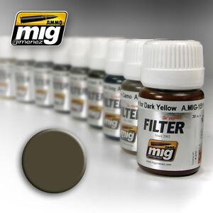 Ammo-of-Mig-A-MIG-1502-Dark-Grey-for-White-Filter-Enamel-35ml