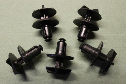 XF /& F-type moteur Trim 5 x Quart de Tour Clips s/'adaptera JAGUAR XJ S type XK