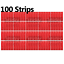 miniature 9 - 3M™ Double Sided Sticky Pad Strips, Strong Heavy Duty Mounting Adhesive Tape