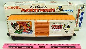 Lionel ~ 6-9665 Peter Pan HI-cube box car Walt Disney's Mickey Mouse Express