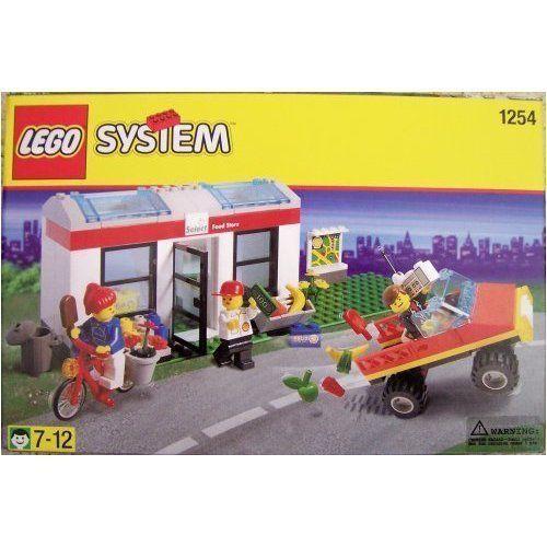 nuovo Lego Town 1254 SHELL SELECT negozio   sconto online