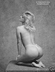 Fine-Art-Nude-signed-black-amp-white-8-5x11-photo-by-Craig-Morey-Bunny-35852-15