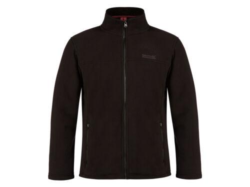 Regatta Men/'s Grove Warm Backed Micro Fleece Black RMA 200 RRP £60
