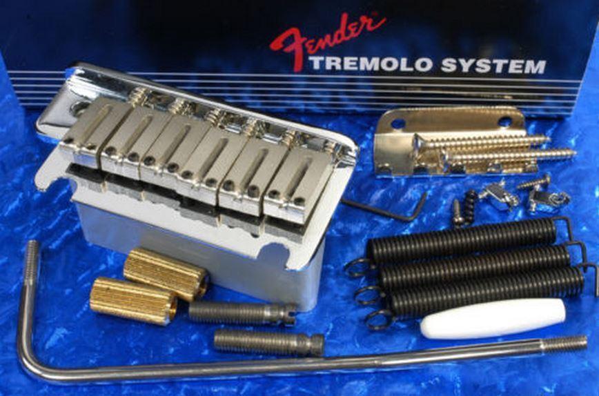 NEW Bridge FENDER STRATOCASTER american chrome chrome chrome 0992050000 pour guitare strat  te hará satisfecho