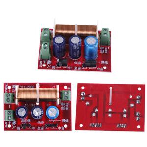 400W-Hoehen-Bassfrequenzteiler-doppelter-2-Wege-Lautsprecher-Crossover-Filte-WCY