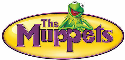 "7/""-10.5/"" Muppets kermit the frog wall sticker glossy cut out border character"
