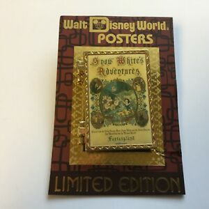 WDW-Attraction-Posters-Snow-White-039-s-Scary-Adventures-LE-1000-Disney-Pin-89695