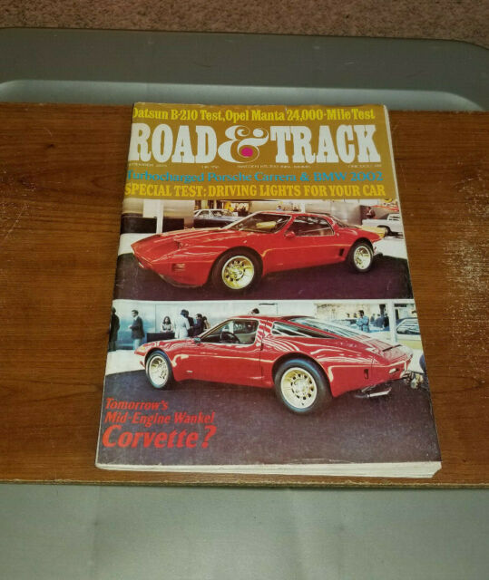 1973 DECEMBER ROAD & TRACK MAGAZINE PORSCHE CARRERA BMW 2002 COVER
