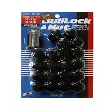 Project Kics W653B19 Bullock & Lug Nut Set 12x1.25 16 Lug Nuts + 4 Locks Lock