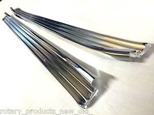 HOLDEN-TORANA-LC-LJ-GTR-XU1-SCUFF-PLATES-CHROME-PAIR