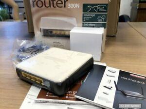 Sitecom WLR-2100 DSL Router 300N X2 bis 300Mbit/s, WPA2, OPS-Taste, NEU, LESEN