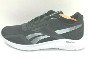 Reebok-Size-10-5-Black-Running-Sneakers-New-Mens-Shoes
