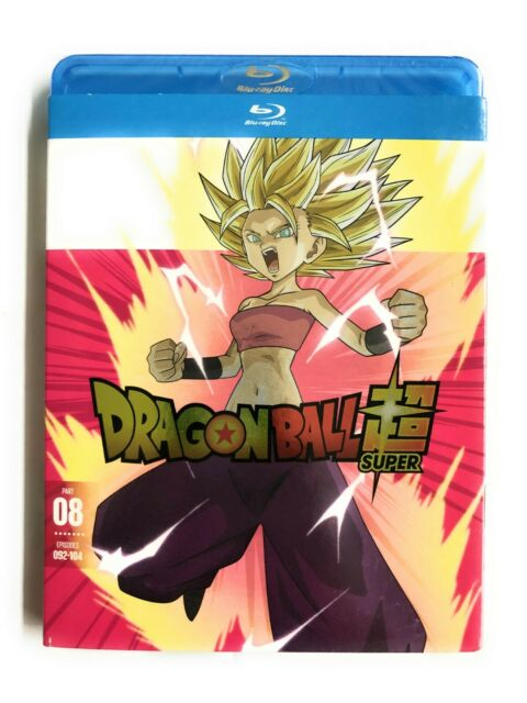 Dragon Ball Super Part 8 Blu-Ray Disc, NEW, 2019 Funimation