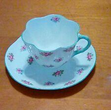 SHELLEY Fine Bone CHINA Tea Cup Saucer Set Rosebud #13426 Made in England