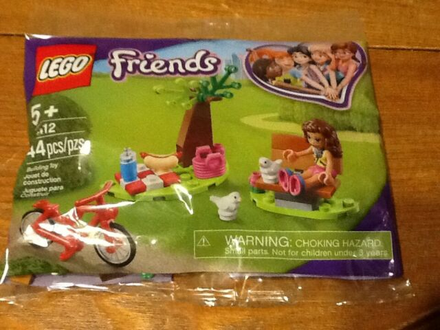 Lego Friends Park Picnic 44 Pieces