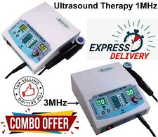 Combo Ultrasound 1mhz Amp 3mhz Therapy Unit Physical Pulse Therapy 1 3mhz Machine