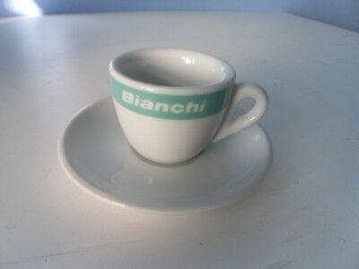 BIANCHI CELESTE EXPRESSO CUP and SAUCER GIFT SET