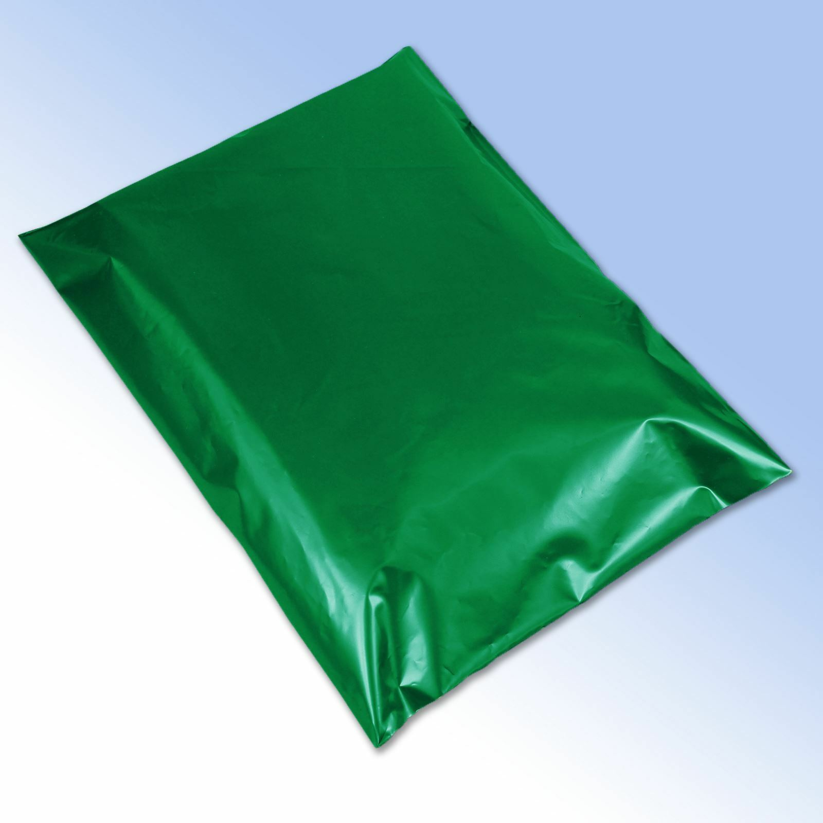 500 Strong Green Self Seal Plastic Poly Mailing Postage Bags 17x24  425x600mm