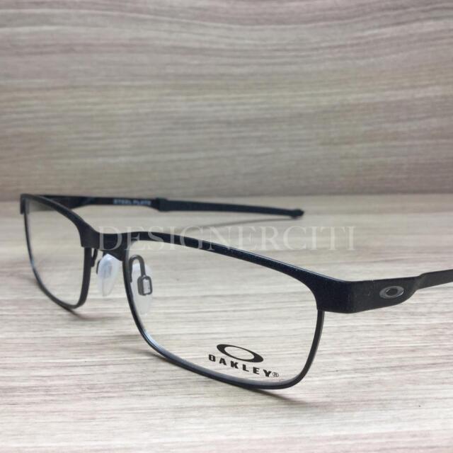 1d4a65459df 100 Authentic Oakley Steel Plate Ox3222-0154 Eyeglasses Frame 54mm ...