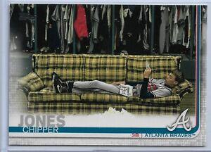 2019-Topps-Series-2-Baseball-Short-Print-Variation-Chipper-Jones-587-Braves