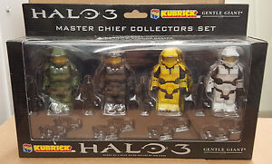 Gentle Giant Kubrick - Halo 3: Master Chief Collectors Set Figure (Medicom)
