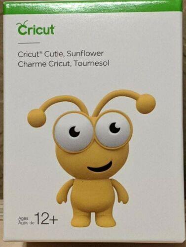"Cricut Cutie SUNFLOWER 3/"" tall Vinyl Figure NEW in Box"