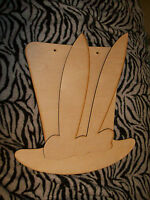 Unfinished Wood Easter Bunny Ears With Top Hat Kit- 17 Inch Tall
