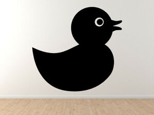 baby newborn icon 5 rubber ducky toy silhouette vinyl wall