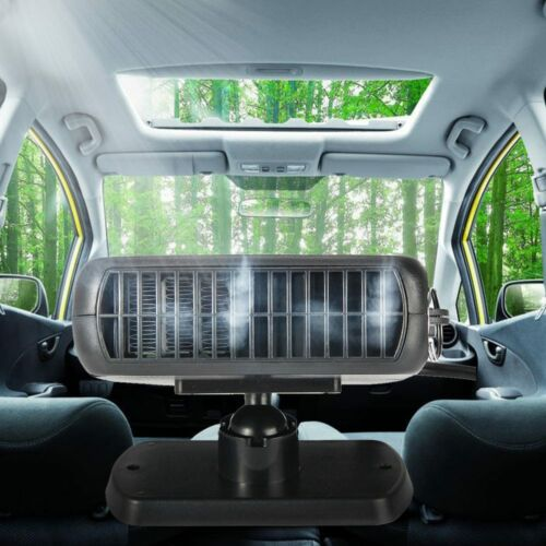 12V 200W Auto Heater Cooler Fan Car Van Ceramic Defroster Demister Portable 2in1
