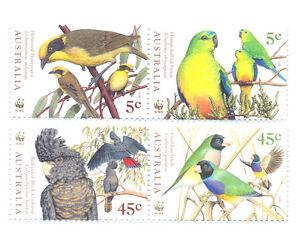 Australia-Birds-Endangered-mnh-set-1794-7