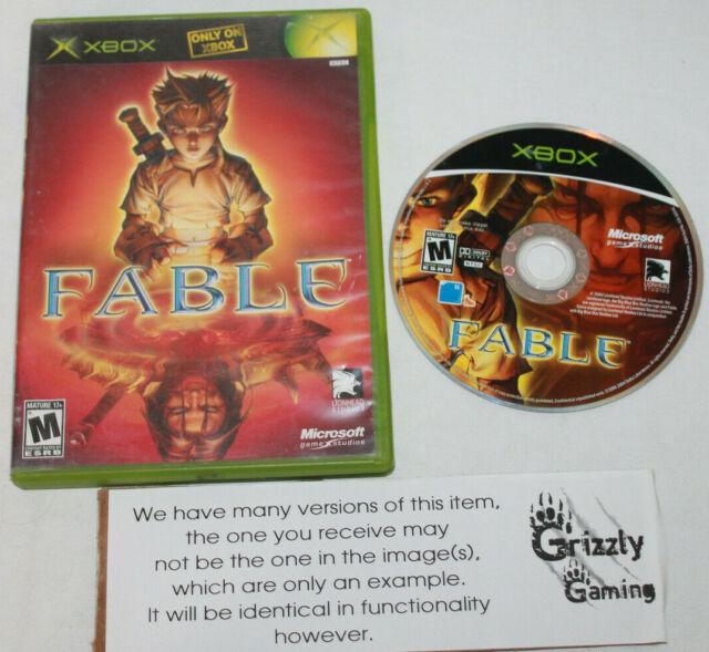 USED Fable Microsoft XBOX (NTSC)