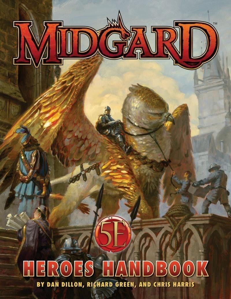 5th édition RPG-Midgard-Héros Handbook
