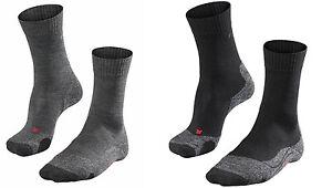 FALKE-TK-2-MEN-Trekkingsocken-Herren-Socken-16474-schwarz-grau