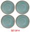SET OF 4 Kampa Camping Caravan Melamine Terracotta Artisan Plates