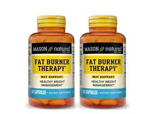 2 X 60 = 120 CAPSULES FAT BURNER THERAPY CHROMIUM PICOLINATE weight management