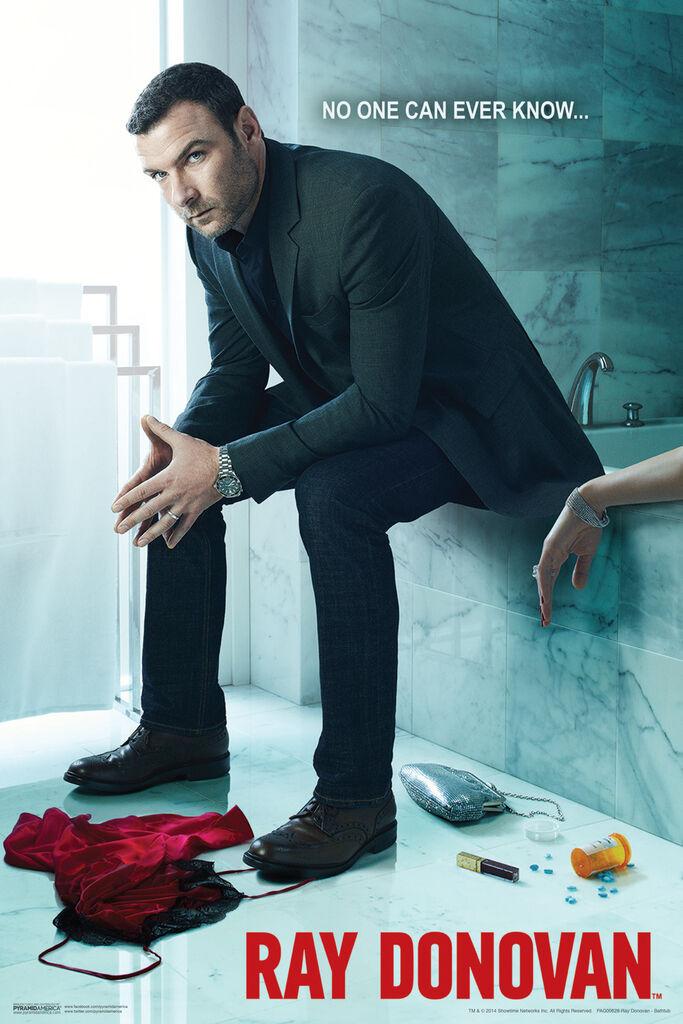 W375 Art Ray Donovan Poster 20x30 24x36 2018 TV Show